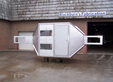 Stainless Steel Wind Tunnel Observation Booth