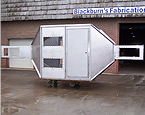 Custom Fabricated Stainless Steel Wind Tunnel Observation Booth